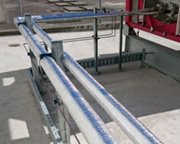 Sekisui Thermobreak thermal tube installed to 25mm and 50mm diameter pipes at Altona industrial plant.
